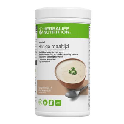 Formula 1 Hartige maaltijd mix Paddenstoel- en kruidensmaak van Herbalife Nutrition