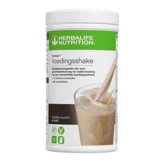 Formula 1 Voedingsshake Cookie crunch smaak van Herbalife Nutrition