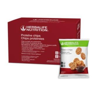Proteine Chips barbeque smaak door Herbalife Nutrition
