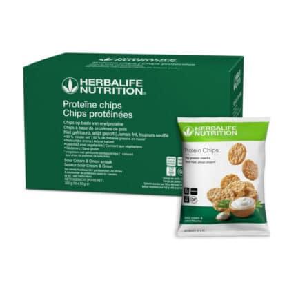 Proteine Chips soar cream & onion smaak door Herbalife Nutrition